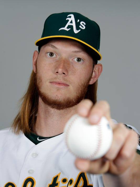 MLB: Oakland Athletics-Media Day