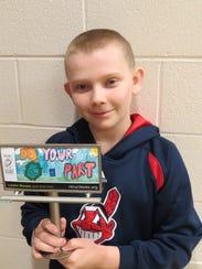 Landon Blausey of Lakota Middle School