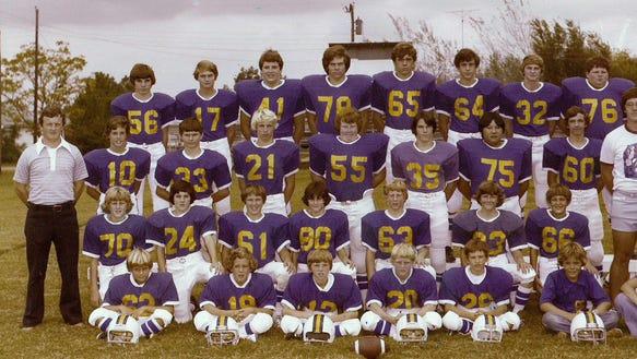 1977 Central Delta Academy football team.