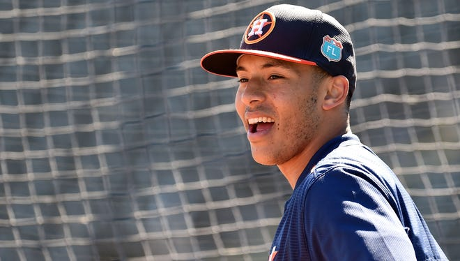 Carlos Correa is just 21, but already one of the major leagues' best players and marketable stars.