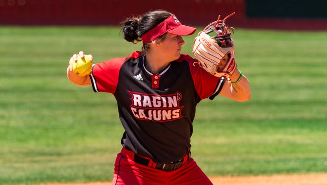 UL's Alissa Dalton continues to lead to the Ragin' Cajuns in hitting and defensively at shortstop.