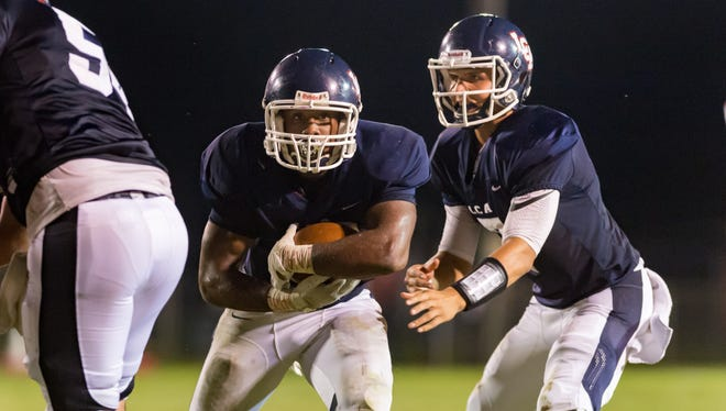 As usual, LCA quarterback Zachary Clement and running back Logan Gabriel were key figures in the Knights' semifinal road win over Southern Lab.