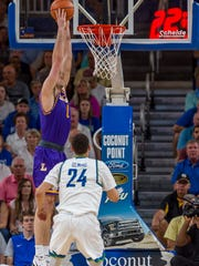 FGCU's defense, which gave up an average of 93.5 points