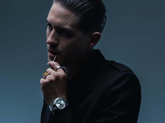 Hip-hop artist G-Eazy will perform Thursday at DTE Energy Music Theatre.