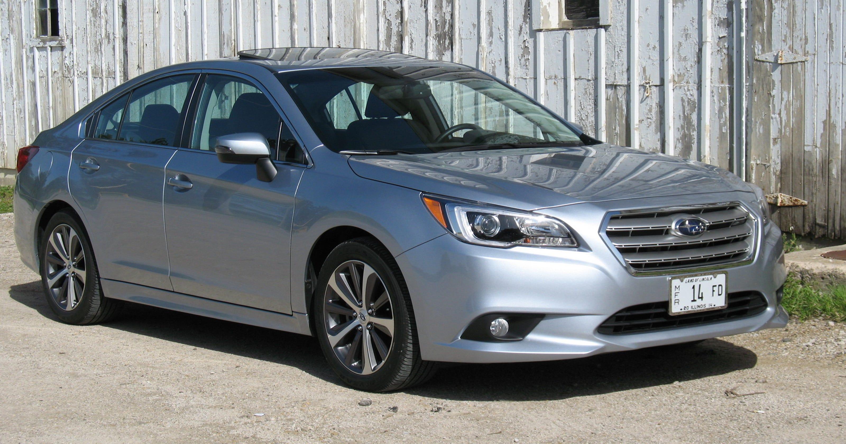 2017 Subaru Legacy Sedan Provides Style Safety Luxury