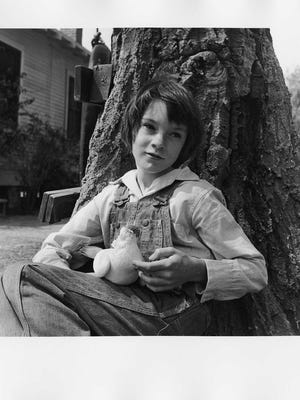 "Mary Badham portrays Jean Louise ""Scout"" Finch in the 1962 movie version of Harper Lee's Pulitzer Prize-winning novel ""To Kill a Mockingbird."""