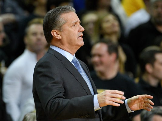 NCAA Basketball: Kentucky at Missouri