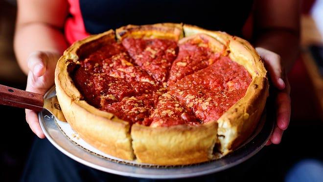 Giordano's Pizza.