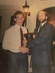 Adam Leitman Bailey receives an Award of Courage from