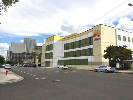 Northern Nevada HOPES will be honored by the Nevada Clergy Association with a Vision Award on May 12, 2015. This is an artist's rendering shows the new HOPES medical facility being built in Reno.