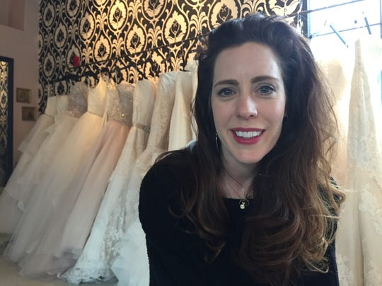 Michelle Depoali, owner of Swoon bridal salon