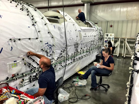 1 Aerospace workers