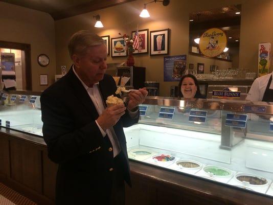 Graham ice cream