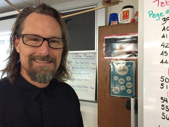 Center Grove Middle School North science teacher Jeff