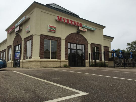 Mykenos Mediterranean Grill is located at 3001 Rib Mountain Drive.