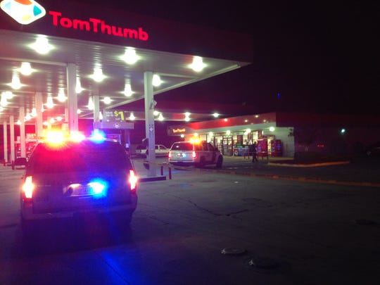 A shooting happened about 6 p.m. at the Tom Thumb in Navarre.