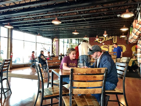 The Kalispell Brewing Co. is in a 100-year-old building
