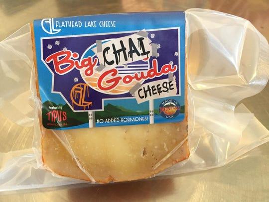 Big Chai Gouda of the Flathead Lake Cheese uses chai