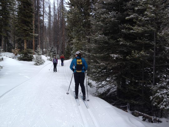 At Homestake Lodge, 37 kilometers of trail are professionally groomed for classic and skate skiing.