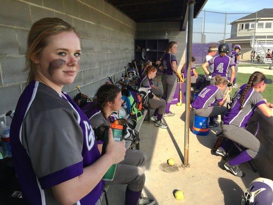 Chloe Roosen, Fremont Ross softball catcher, was born