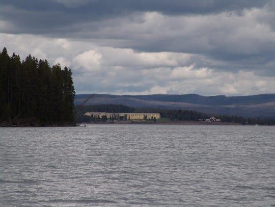 Lake Hotel Yellowstone Lake
