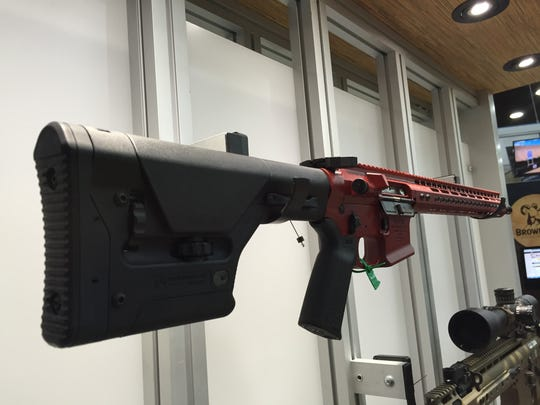 Here's the AR-15 assault rifle up for auction.