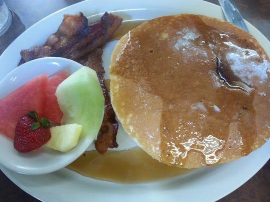 Pancakes at Wholly Chow.