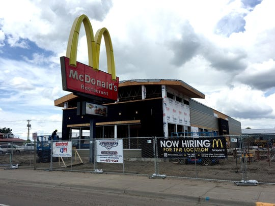 The rebuilt and modernized westside McDonald's Restaurant, 1710 3rd St. N.W., is set to open in mid-July.
