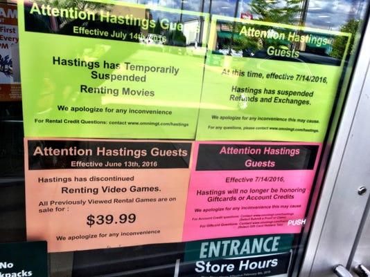 2 Hastings signs