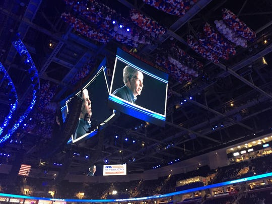 Gov. Rick Snyder gave video message during convention with a several other Republican governors.