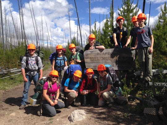 Students take a three day, two night backpack trip into the Scapegoat Wilderness to monitor recreation impacts at Webb Lake, pull noxious weeds like oxeye daisy and conduct an amphibian survey.