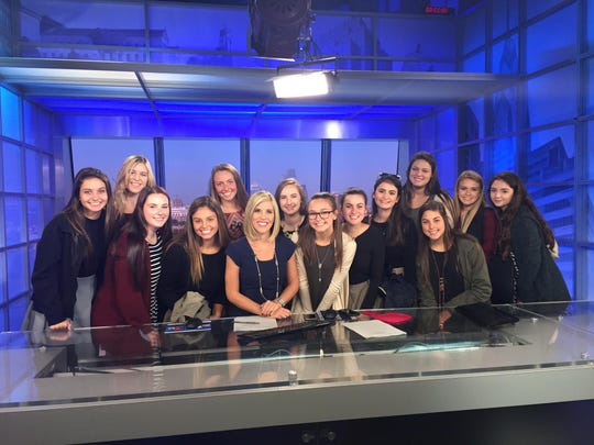 Padua's Television and Video Production class (PATV) toured the NBC10 Studio.