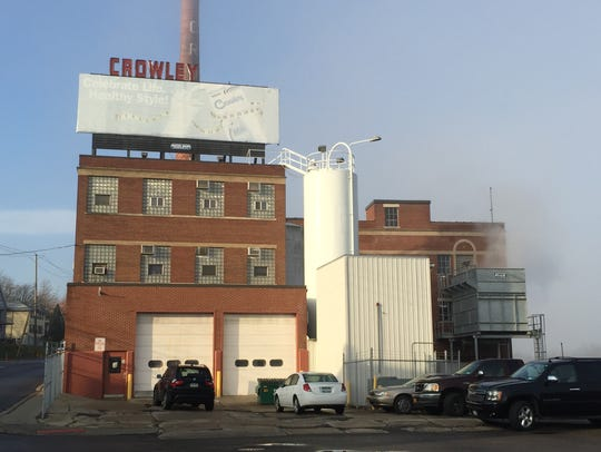 The former Crowley dairy plant at 130 Conklin Ave.