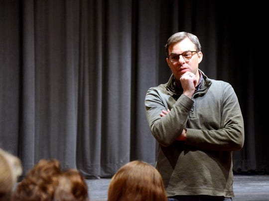U.S. Rep. Justin Amash, R-Cascade Township, held a town hall Tuesday at Pennfield High School.
