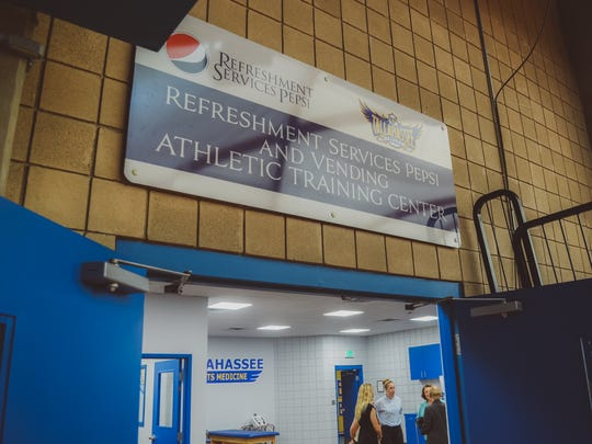 tallahassee community college unveils new athletic training room