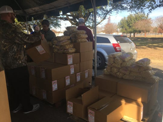 Goodfellows recipients received additional items from