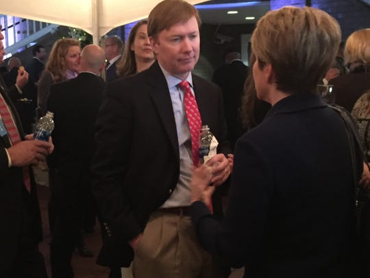 Florida Agriculture Commissioner Adam Putnam was among the attendees at AIF's annual party to kick off a legislative session. Putnam, Gov. Rick Scott and Representatives Loranne Ausley and Ramon Alexander were among the thousand who attended the 2018 event.