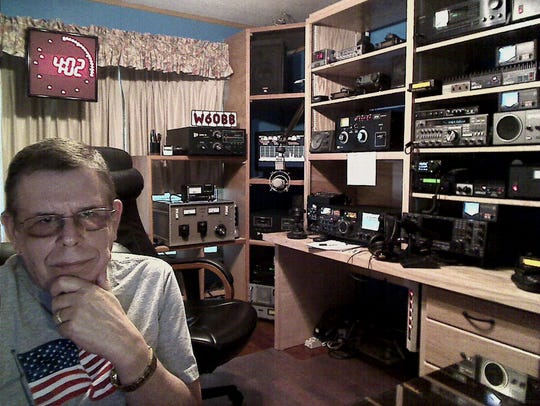 Art Bell, radio's master of the paranormal, in the