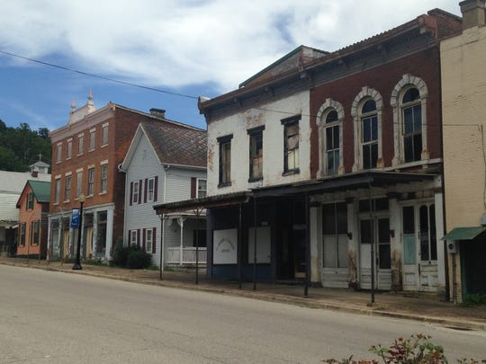 Cannelton historic district