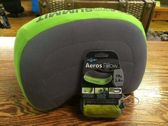 Sea to Summit pillow, available at Roads Rivers and