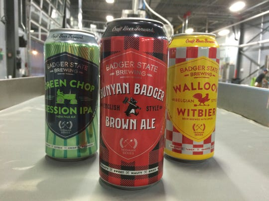 It took Badger State Brewing Co., 990 Tony Canadeo Run, Green Bay, a little more than a year to go from startup brewery to canning beer for retail distribution.