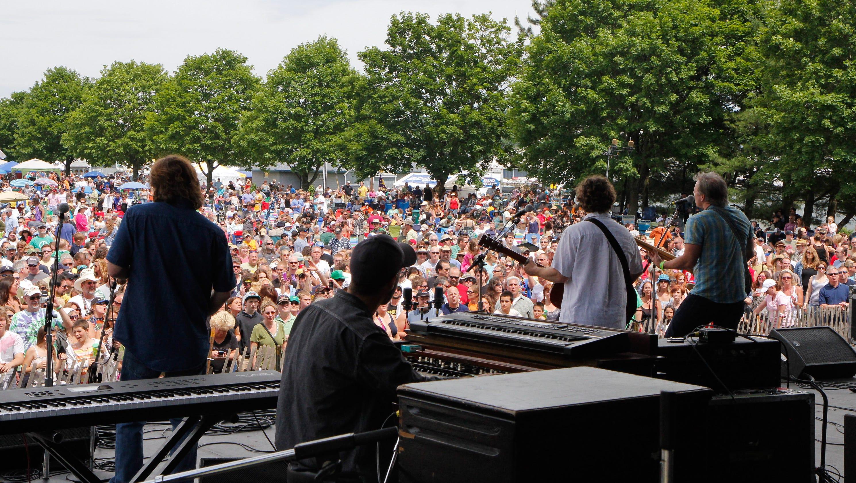 Music festivals offer fun — and funk — in the sun