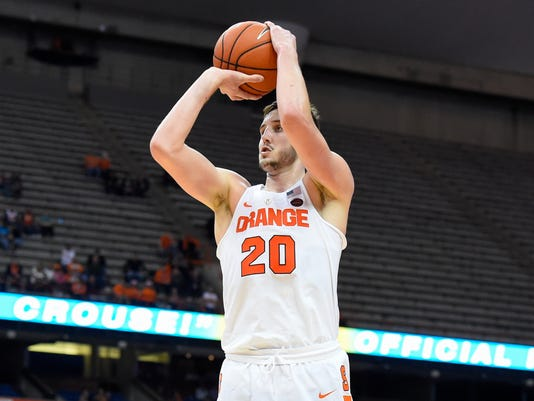 NCAA Basketball: St. John at Syracuse