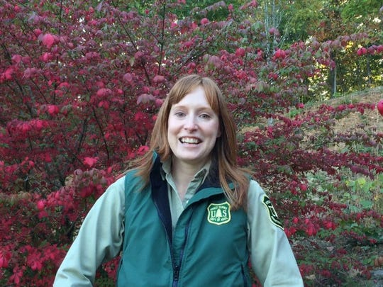 Michelle Aldrige is the U.S. Forest planning officer for the Nantahala and Pisgah National Forest Plan Revision.