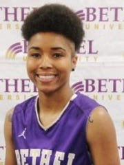 """Martessia """"Moo Moo"""" Williams has made coach Chris Nelson happy with her point guard play."""