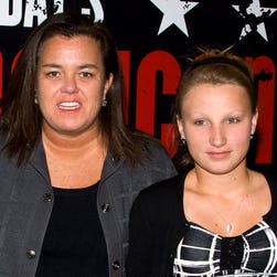 Rosie O'Donnell poses with her daughter Chelsea in 2010.