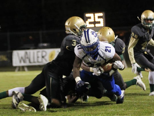 Godby rising senior Samondre Johnson, who rushed for just 205 yards last year, will be relied upon heavily next year to make up for the 2,100-plus rushing yards created by graduated quarterback Darius Bradwell and running back Tyquan Watson.