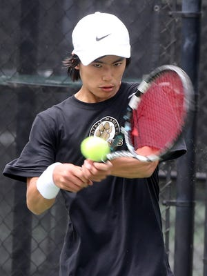 Central Magnet's Nathan Zou and the Tigers shut out Merrol Hyde Magnet 7-0 Wednesday.