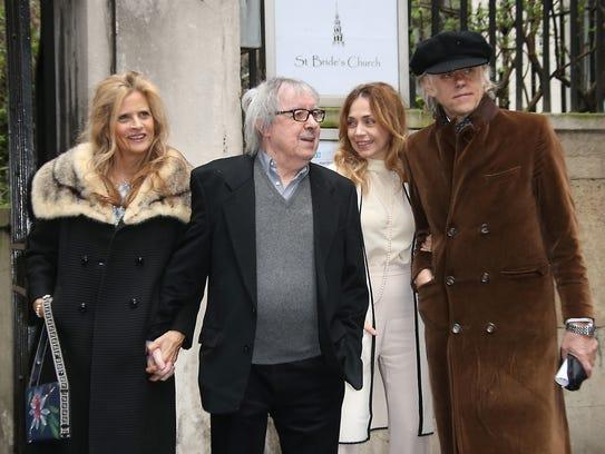 Suzanne Accosta, from left, Bill Wyman, Jeanne Marine