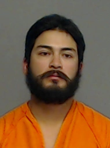 Juan Adrian Reyes, 18, was booked on accusations of